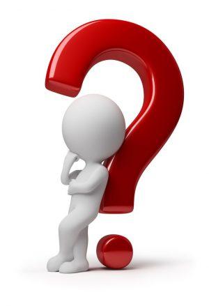 TCG newsletter 2020 October question mark